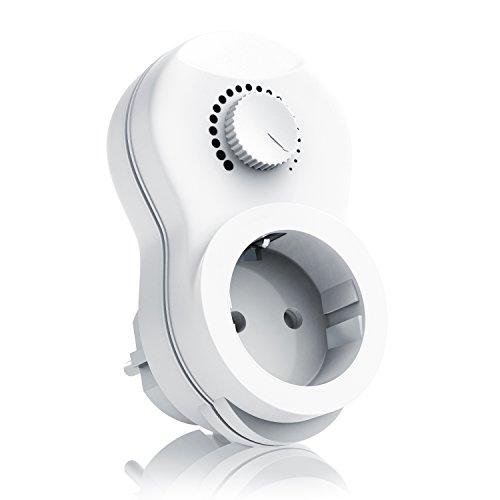 Arendo - Enchufe con regulador de Luz | Dimmer | Interruptor con...