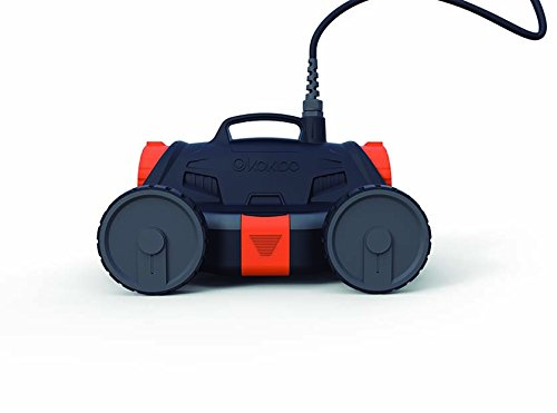 Kokido Drakbot - Robot limpiafondos automático para piscinas, 17.000 l/h