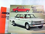 Fiat 125 und Fiat 125 Special. Mit beiliegender Preisliste Juni 1971.