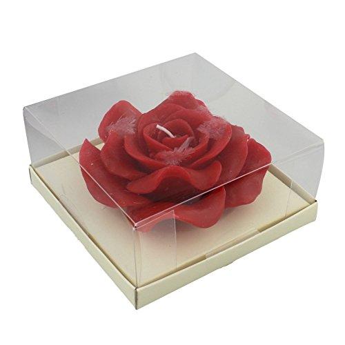 Autant de Souvenirs Inoubliables 2 x Large Rose Rouge Bougies Fêtes Accessoires pour la Maison Cadeaux