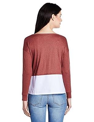 People Women's Body Blouse Long Sleeve Top
