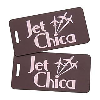 Airspeed Junkie Jet Chica Bag Tag, Black