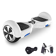 Idea Regalo - Cool&Fun Hoverboard, Self Balance Scooter Elettrico, Balance scooter con LED, Due Ruote 6.5