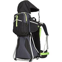 MONTIS HIKE - Mochilas portabebés - 25 kg - Diferentes colores (negro)