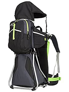 MONTIS HIKE - Zaino porta bambino - 25kg - diversi colori (nero)