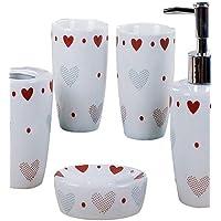 XMQC*Amore modello cuore bagno cinque pezzo suit