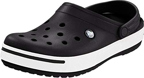 Crocs Crocband II, Unisex Adulto Zueco, Negro Black/Black, 46-47 EU