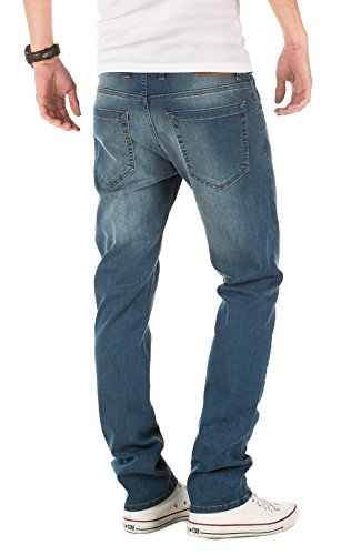 WOTEGA Herren Jeans Justin Blau (Dress Blues 94024)
