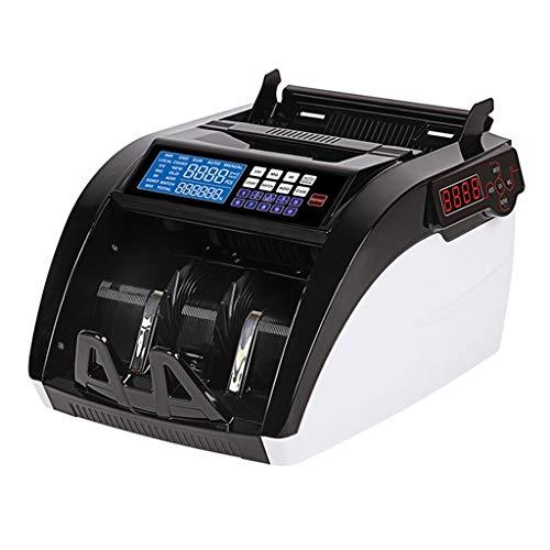 Geld Zähler Maschine Gefälschte Rechnung Detecto Unterstützung Länder Wie RMB, Taiwan Dollar, Hong Kong Dollar, US Dollar, Euro, Japanischen Yen, Etc. ( Color : Weiß , Size : 23*30*16cm ) (Geld Zähler Maschine)