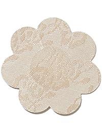 IRIS & LILLY Pezoneras Adhesivas de Tela para Mujer, Pack de 4