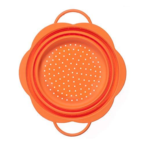 Faltsieb - Groß Farbe orange