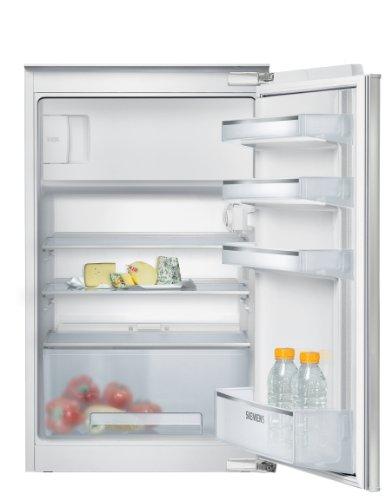 Siemens KI18LV60 iQ100 Einbau-Kühlschrank / A++ / Kühlteil: 112 L / Gefrierteil: 17 L / weiß / SafetyGlas-Ablagen / Flachschanier