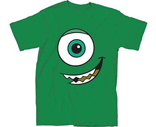 TV Store Monsters, Inc. I Am Mike Cyclops grün Erwachsene T-Shirt (Shirt Monsters T Inc)