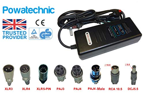24V 2A au lithium li-ion, LiFePo4Chargeur de batterie pour vélo électrique Scooter Chariot de golf imperméable pour fauteuil roulant électrique Chariots