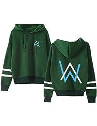 Unisex Alan Walker Juvenil Sudadera con Capucha Impresión Abrigo Color Solido Sudaderas Hoodie Caída Invierno Jacket