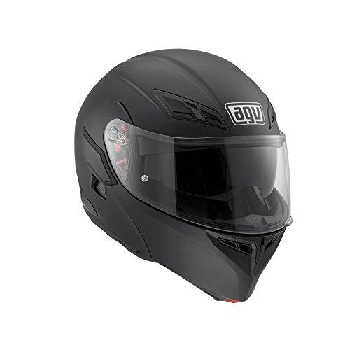 AGV Casco Moto Compact ST E2205Solid plk, Matt black, XS