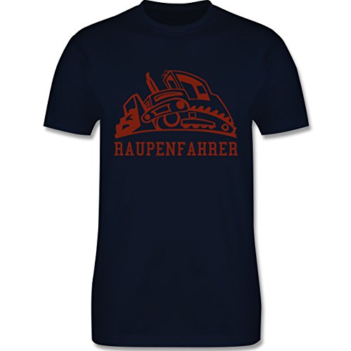 Andere Fahrzeuge - Raupenfahrzeug - Herren Premium T-Shirt Navy Blau