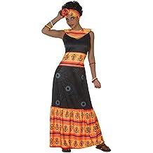Atosa - Disfraz Africana, Color Negro, M-L (38894)