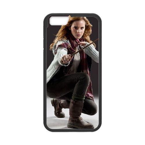 Deathly Hallows coque iPhone 6 Plus 5.5 Inch Housse téléphone Noir de couverture de cas coque EBDXJKNBO11099