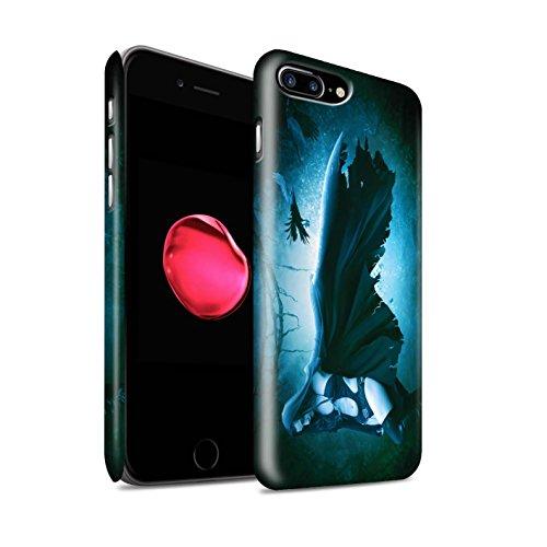 Officiel Elena Dudina Coque / Clipser Matte Etui pour Apple iPhone 8 Plus / Maestro/Sorcier Design / Magie Noire Collection Vent/Orage/Forêt