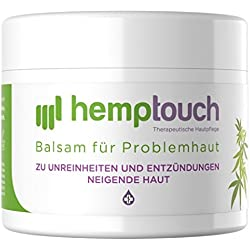 Pommade de l'huile de chanvre biologique – 200-250 mg CBD – Creme au chanvre de cannabis pour peau problématique – 50 ml