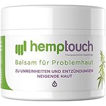 Eczema crema – 200-250 mg CBD – Pomata all'olio di canapa per problemi cutanei – Cannabis cultivata con metodi biologici – Hemp cream - 50 ml