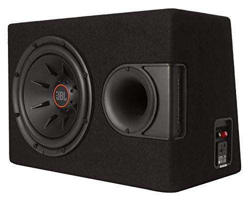 JBL S2-1224SS 12 Inch Car Stereo Audio Enclosure Subwoofer System with Exclusive SSI Technology - Black