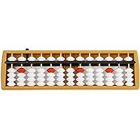 Yeenee Abacus - Cañas de Pescar de plástico ABS, Estilo Vintage, Herramienta de conteo