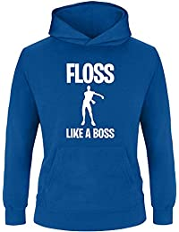 db36460bf524 EZYshirt® Floss Like a Boss Pullover Kinder   Mädchen Kapuzenpullover    Hoodie