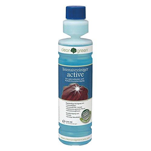 HARO clean und green Intensivreiniger active 500 ml Bodenpflege, 1 Stück, 407634 (Holz Reiniger Boden Und Laminat)