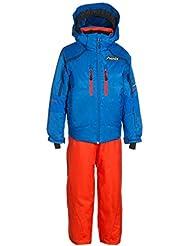Phenix Norway Alpine Team Kids Two de Piece, azul-naranja, 4-8