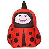 Red lady bug kids school bags for kids (...