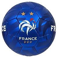 Collection officielle Equipe de France de Football. Ballon de football FFF, avec les 2 étoiles de Champion du Monde ! Taille 5 (standard). Matière polyuréthane. Produit officiel, sous licence officielle, marque protégée.