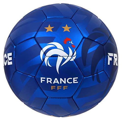 Balón de fútbol FFF de 2 Estrellas - Colección Oficial del Equipo de fútbol de Francia - T 5