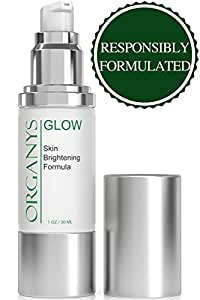 Organyc Skin Whitening Cream Corrects Dark Spots Bleaches Skin Discoloration and Freckles - 30 ml