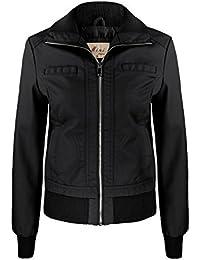 Donna Giacche it Amazon Abbigliamento Pelle In Da 0XR0FnCwxq