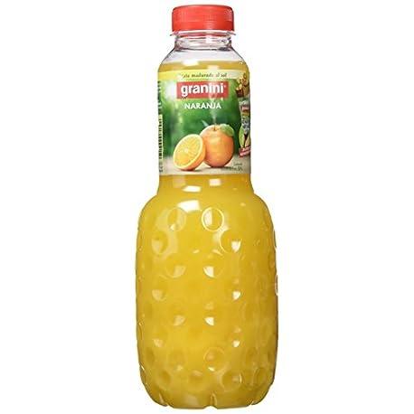 Granini Zumo Naranja 1000 ml Pack de 6 Total 6000 ml