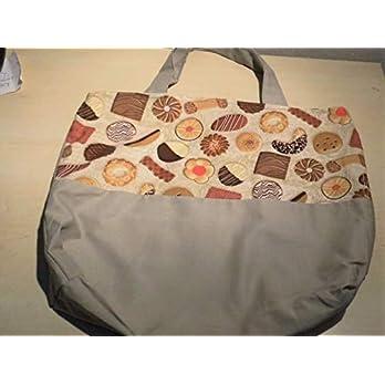Tasche/Beutel mit einem Motiv von vielen Plätzchen und Keksen