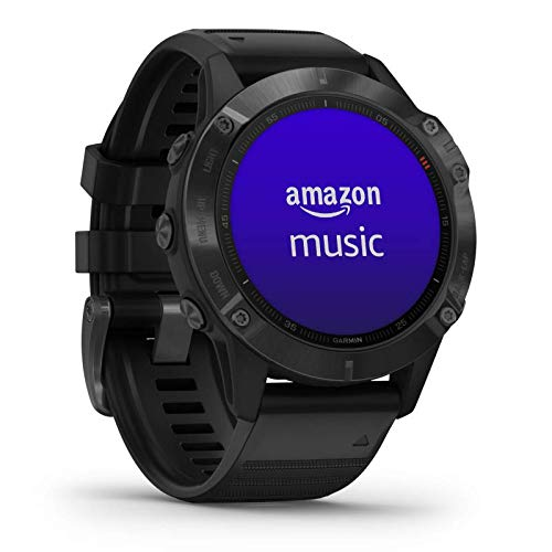 """Garmin fenix 6 PRO GPS-Multisport-Smartwatch mit Herzfrequenzmessung am Handgelenk, 1,3"""" Display, Musikplayer, vorinstallierte Karten, WLAN, wasserdicht, kontaktloses Bezahlen, lange Akkulaufzeit"""