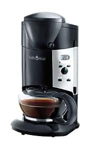 coffee maxx schwarz kaffemaschine mit mahlwerk. Black Bedroom Furniture Sets. Home Design Ideas