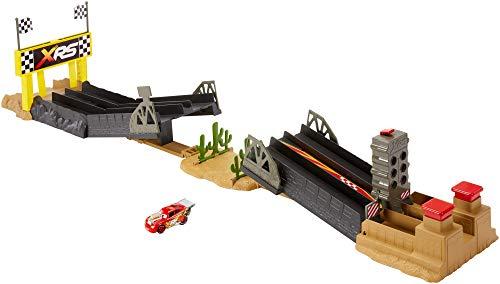 Disney Cars GFM09 - Xtreme Racing Serie Dragster-Rennen Spielset (Disney Cars Spielset)