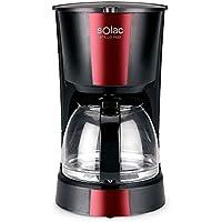 Solac CF4029 Stillo Red Cafetera de Goteo de 1,2 litros, 12 Tazas de