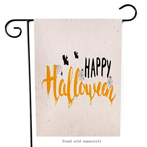 Fancy Spinne Macht Dress Kostüm Eine - Mitlfuny Halloween coustems Kürbis Hexe Cosplay Gast Ghost Schicke Party Halloween deko,Saisonale Garten Fahnen Doppelseitige Outdoor-Feiertage Dekorative Rasen Yard Flags