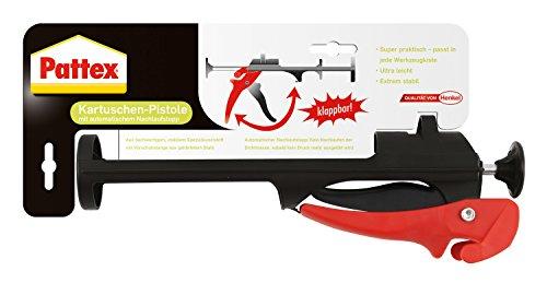 Pattex 1744283 Pistolet à calfeutrer pliable, Noir