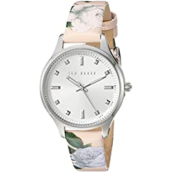 TED BAKER LADIES STAINLESS STEEL STRAP WATCH