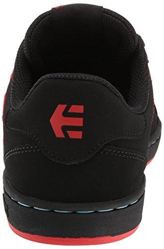Etnies - 4201000301-155, Scarpe da skate da uomo Nero (Schwarz/Schwarz/Rot)