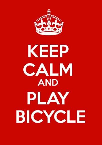 ruhig und halten spielen Fahrrad - A3 Poster, (Ruhige Spa)