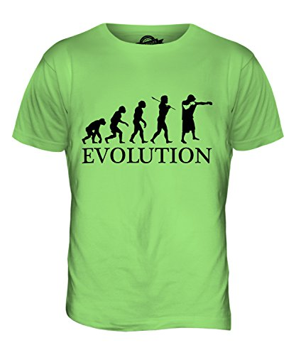 CandyMix Boxen Evolution Des Menschen Herren T Shirt Limettengrün