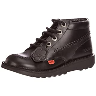 Kickers Unisex Adults' Kick Hi Core Ankle Boots, Black, 5 UK