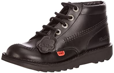 Kickers Kick Hi Core Unisex - Child Boots - Black, 3 UK